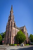 Evangelische Stadtkirche In Offenburg City, Germany