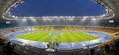 Panoramic View Of Olympic Stadium In Kyiv