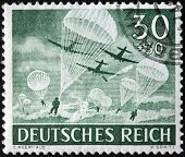 Airborne Forces Stamp