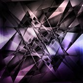 foto of refraction  - Modern facet background - JPG