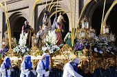 Holy Week In Zaragoza.