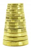Stack Of Gold Coins
