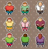 Fat People Stickers