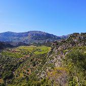 Tramuntana Mountains Range On Majorca