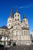 image of bonnes  - The Bonn Minster or in German the Bonner M - JPG