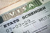 stock photo of olympiade  - Schengen visa - JPG