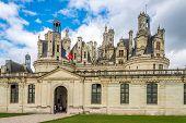 Entrance To The Chateau De Chambord