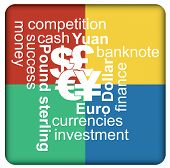 Major Currencies, Financial Concept
