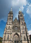 St. Lorenz Church In Nuremberg
