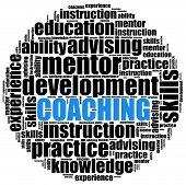 Coaching Or Self Development Concept
