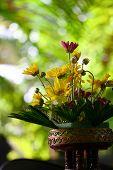 arrangement Bouquet of simple flowers