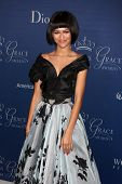 LOS ANGELES - OCT 8:  Zendaya Coleman at the Princess Grace Foundation Gala 2014 at Beverly Wilshire Hotel on October 8, 2014 in Beverly Hills, CA