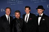 LOS ANGELES - OCT 8:  The Tenors at the Princess Grace Foundation Gala 2014 at Beverly Wilshire Hotel on October 8, 2014 in Beverly Hills, CA