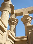 Temple of Philae Columns