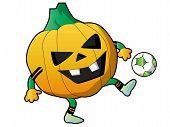 Soccer Pumpkin