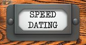 Speed Dating - Concept on Label Holder.