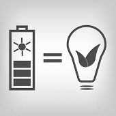 Solar battery as eco friendly source of energy