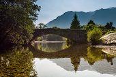 Grange Bridge Reflected