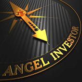 Angel Investor - Golden Compass Needle.