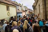 Golden Lane In Prague - Zlata Ulicka