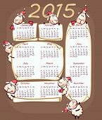 calendar 2015 with the ram