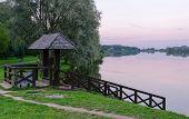 Twilight On The Ponds Nesvizhsky Park