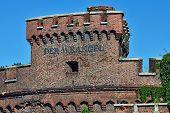 Wrangel Tower - Stronghold Of Koenigsberg. Kaliningrad, Russia