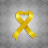 Awareness Yellow Ribbon