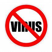 Virus forbidden