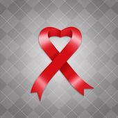 Awareness Red Ribbon