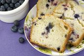 Mixed Berry Bread Closeup