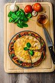 Vegetarian Tortilla And Bolognese Sauce