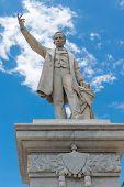 Jose Marti Monument Or Statue In Cienfuegos, Cuba