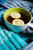 Tea With Lemon An Dscarf