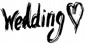 Wedding Hand Lettering. Handmade Calligraphy.
