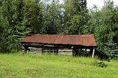 Wiseman log cabin