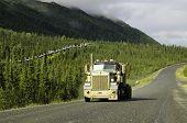 Alaska road truckers