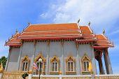 Temple at Wat Rom Pho Manotham