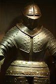steel knightly armor