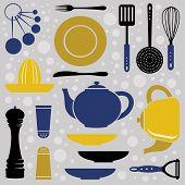 Kitchen collection retro style