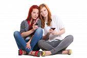 Two Redhead Women