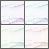 Collection Of Abstract Swoosh Line Certificates