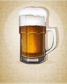 Beer Mug With Handle