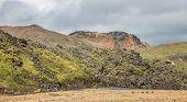 Landmannalaugar unbelievable lava landscape, Iceland