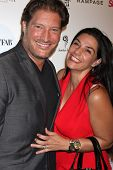 LOS ANGELES - OCT 9:  Sean Kanan, Michelle Kanan at the Star Magazine Scene Stealers Event at Lure on October 9, 2014 in Los Angeles, CA