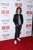 LOS ANGELES - OCT 9:  Francesco Yates at the UNIQLO Los Angeles Opening at UNIQLO, Beverly Center on October 9, 2014 in Beverly Hills, CA
