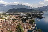Riva Del Garda By Garda Lake