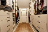 picture of wardrobe  - Big wardrobe in the new house horizontal - JPG