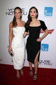 LOS ANGELES - OCT 8:  Hilary Swank, Emmy Rossum at the