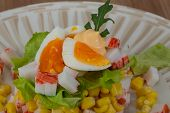 Crab Sticks Salad